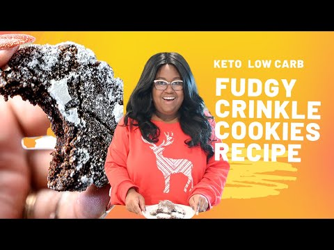 Fudgy Crinkle Cookies Recipe   The Hangry Woman