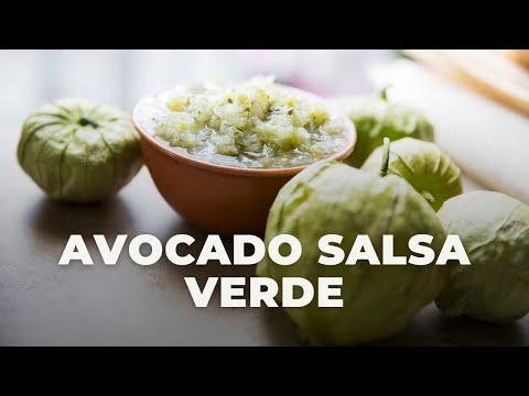 Avocado Tomatillo Salsa | The Hangry Woman