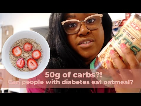 Is oatmeal good for people with diabetes? Here's a glucose test to prove it.   The Hangry Woman