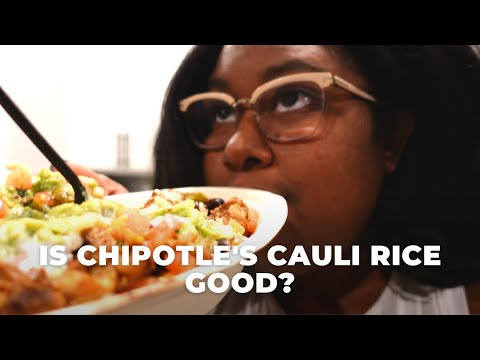 Is Chipotle's Cauliflower Rice even good? | The Hangry Woman