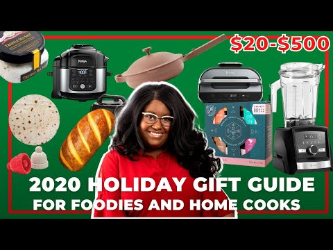 2020 foodie holiday gift guide | Gifts for $20, $50, $250 and $500+ | The Hangry Woman
