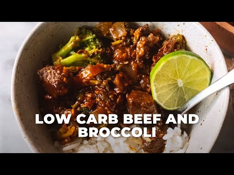 Low Carb Beef and Broccoli | The Hangry Woman