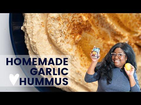 Garlic Hummus How-To   The Hangry Woman