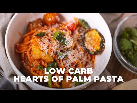Low carb hearts of palm pasta alla vodka | The Hangry Woman