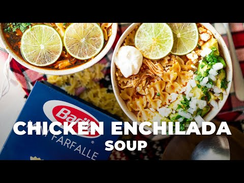 Chicken Enchilada Soup Recipe | The Hangry Woman