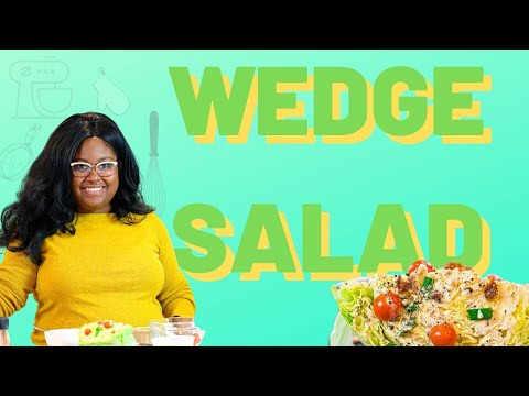 The perfect wedge salad | The Hangry Woman