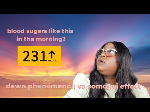 High blood sugar readings when you wake up? What's dawn phenomenon and Somogyi effect in diabetes?