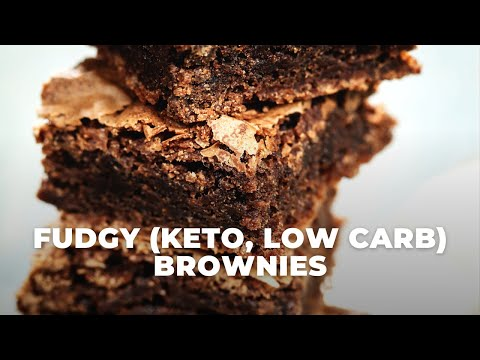 Fudgy Keto Brownie Recipe #Shorts