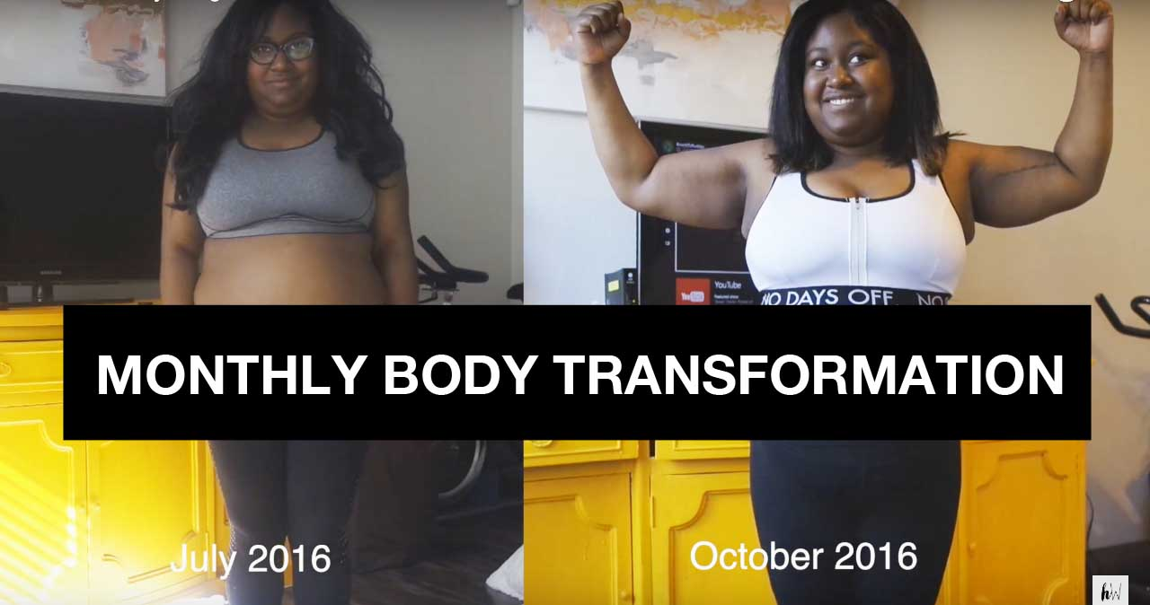 September's Monthly Body Transformation