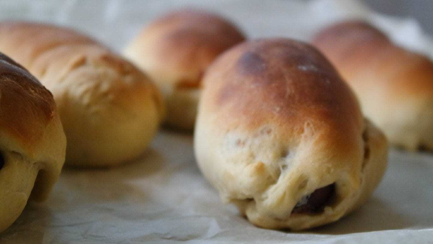 Jalapeño, Cheddar and Sausage Kolaches