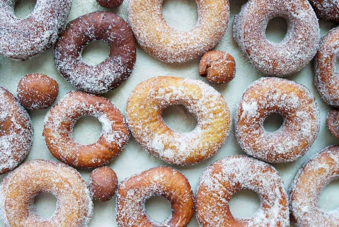 How to make Cinnamon Sugar Donuts