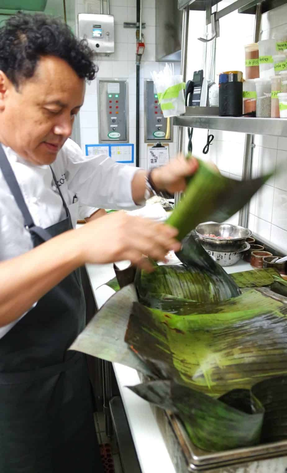 Chef Hugo Xochi