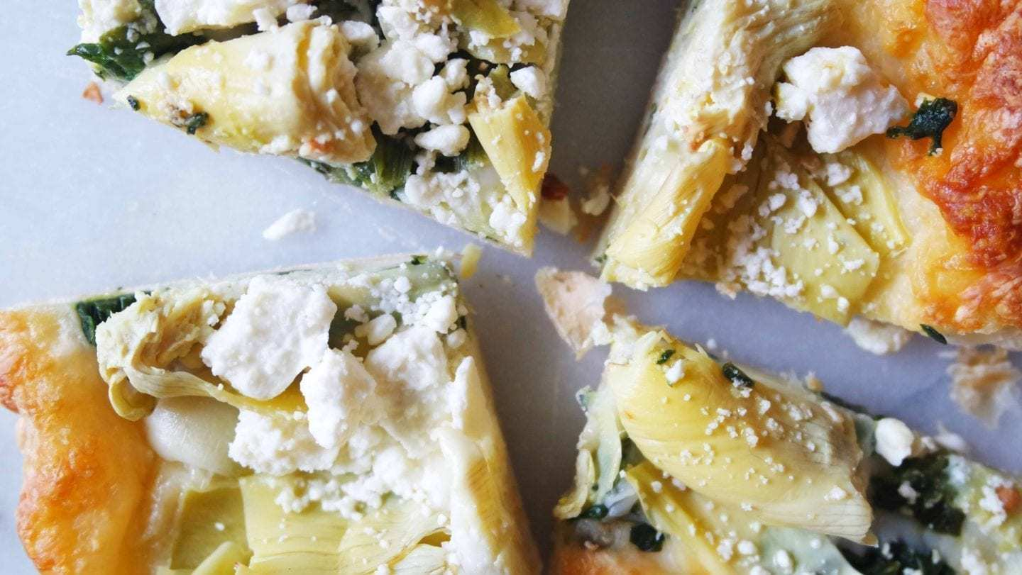 Spinach and Artichoke Tart