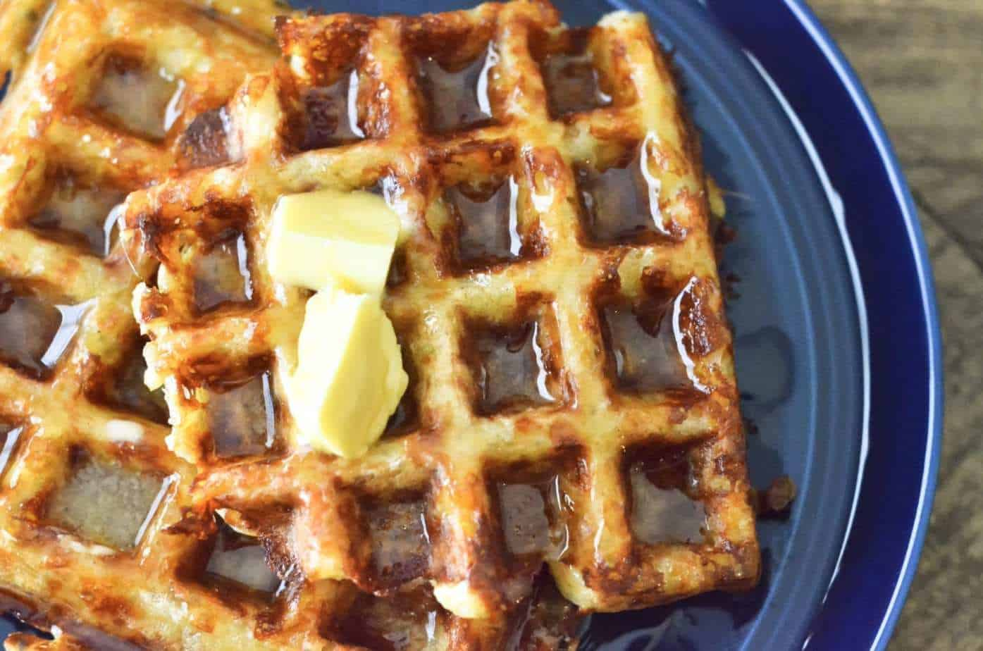 How to make grain-free, low carb keto waffles