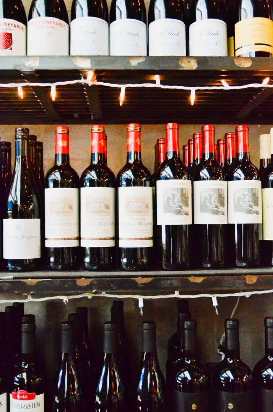 Max's Wine Dive Wine selection