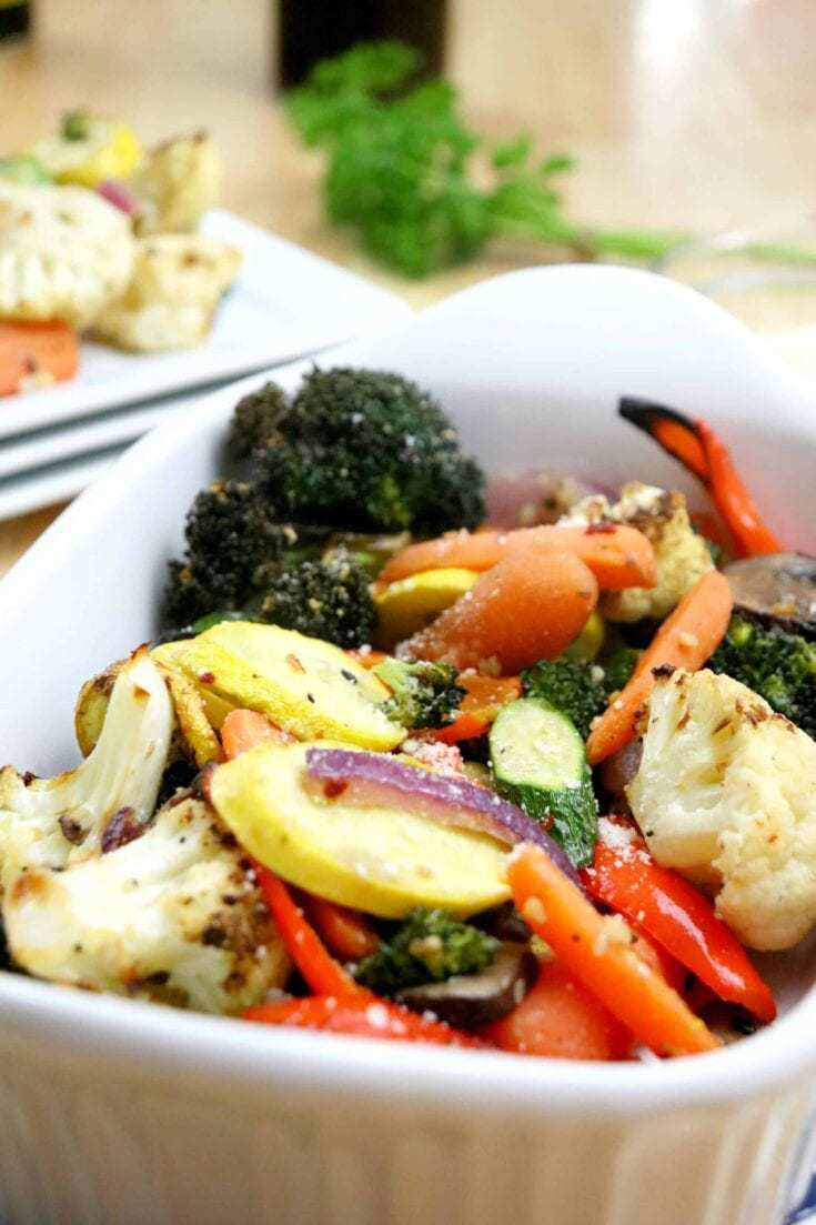 Delicious and Easy Air Fryer Roasted Vegetables Recipe