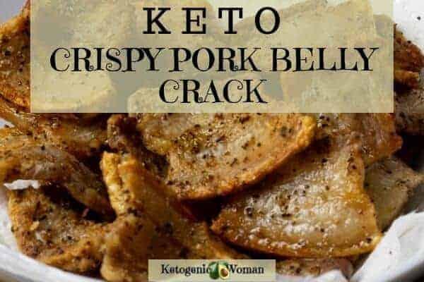 Air Fryer Salt and Pepper Crispy Pork Belly Crack
