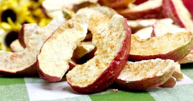 Yummy Air Fryer Cinnamon Apples Recipe
