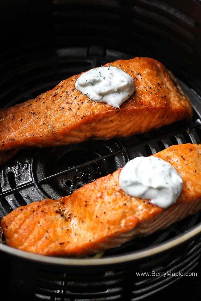 Perfect Air Fryer Salmon Fillets