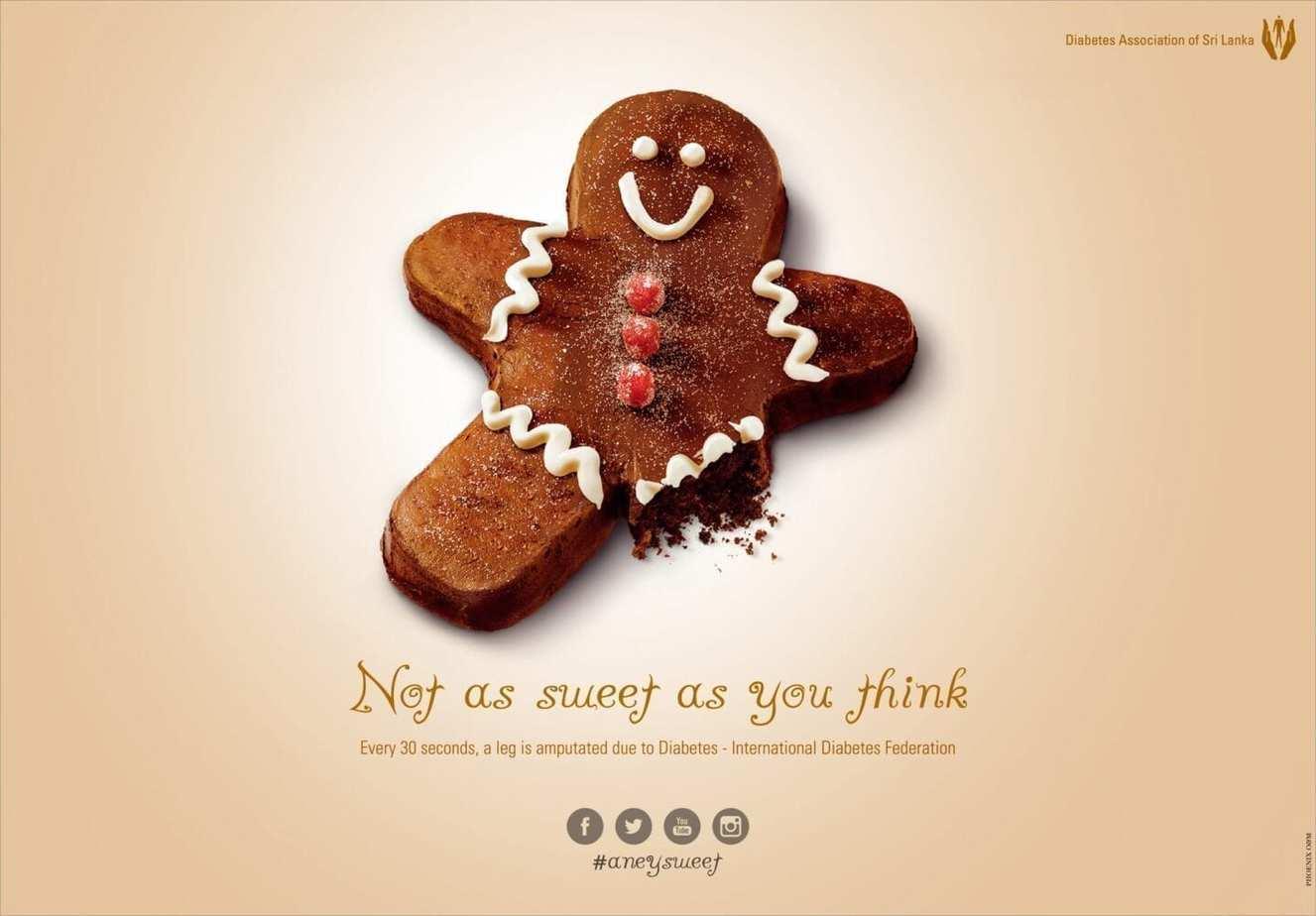 diabetes advertising.