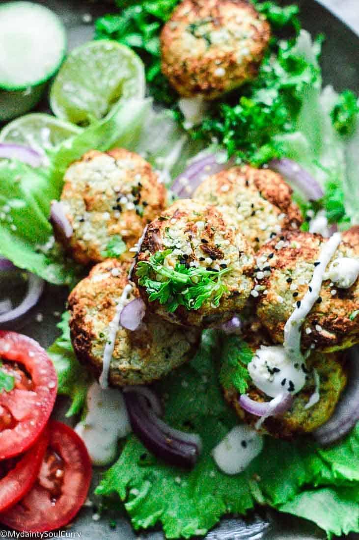Vegan Keto Falafel