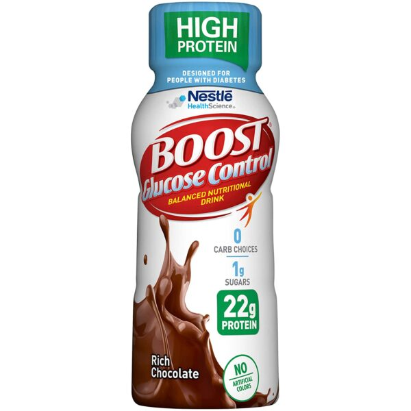 bottle of boost glucose control