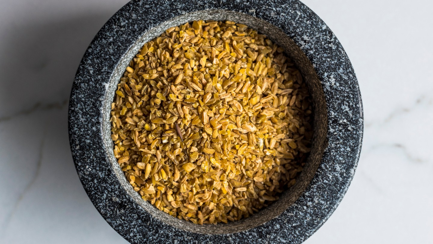 Freekeh in a bowl