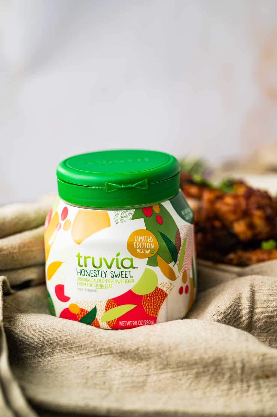 Truvia original sweetener in limited edition bottle
