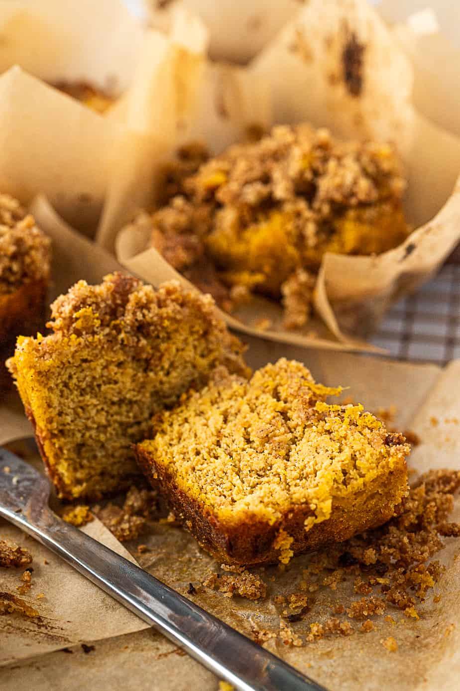 diabetes-friendly pumpkiin muffins