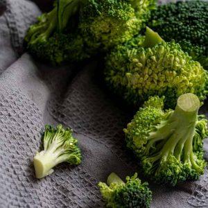 Canva - Green Broccoli on White Textile
