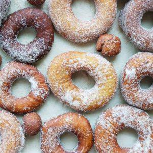 Donut Flat Lay
