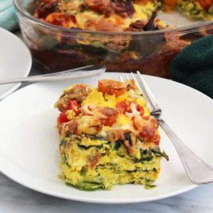 low carb breakfast casserole recipe